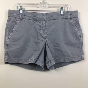 J. Crew | NWT Gray Chino Shorts | Size 12